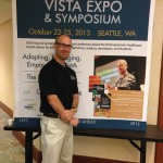 Before my VISTA keynote in Seattle