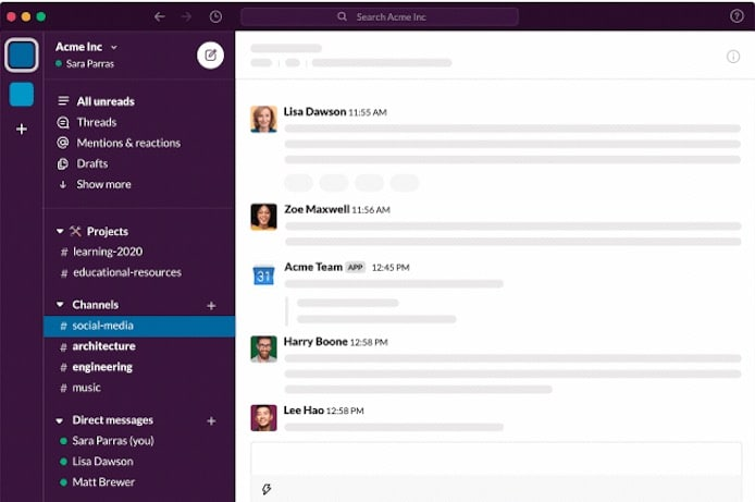 A Quick Note on Slack's New UI and Slack For Dummies