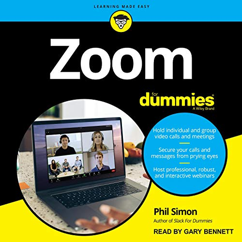 Zoom For Dummies Audiobook Coming Soon